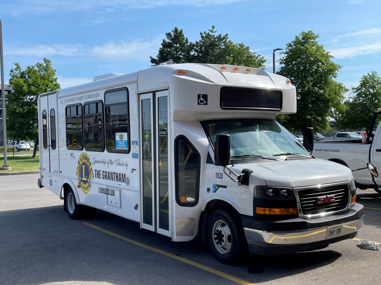 Photo of a St. Catharines Transit On Demand Bus